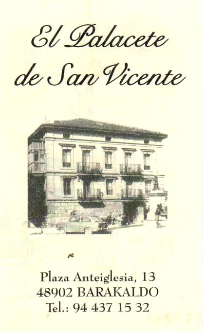 EL PALACETE de San Vicente