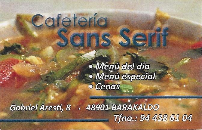 Cafetería San Serif