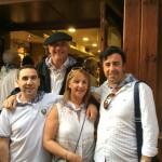 Alberto García, Gemma Etxaniz, Iñaki Hernádez y Javier Urraca
