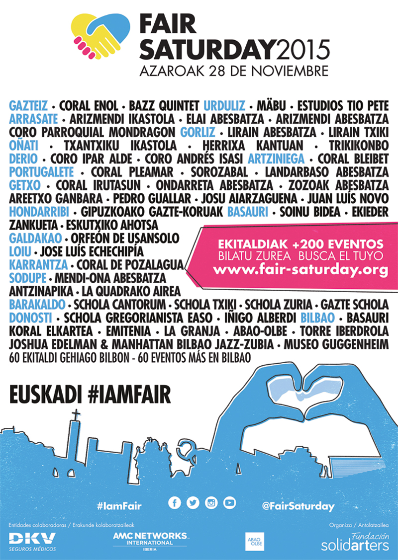 Fair Saturday Euskadi 2015