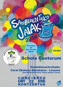 San Bizenteko Jaiak 2016