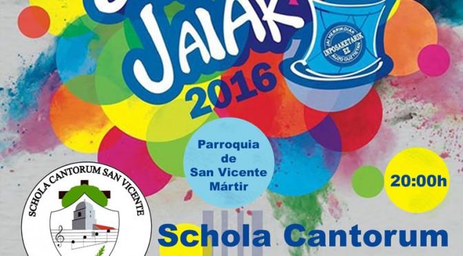 Concierto Fiestas de San Vicente
