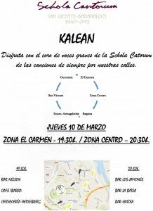 Schola Kalean marzo2016