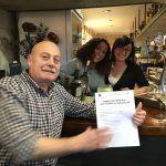 Bar Antonio - Luis, Soraya y Jessica