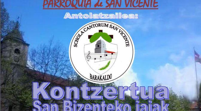 Concierto Fiestas de San Vicente 2018