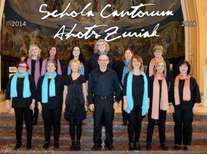 Schola Cantorum Ahots zuriak 2018