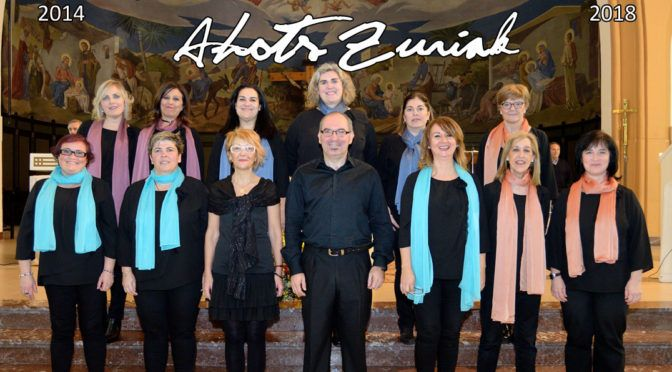 Concierto de fin de curso Schola Cantorum Ahots Zuriak