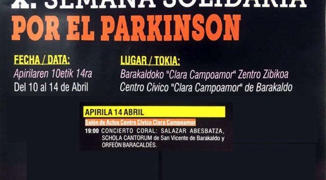 Concierto Schola Cantorum – X Semana Solidaria por el Parkinson