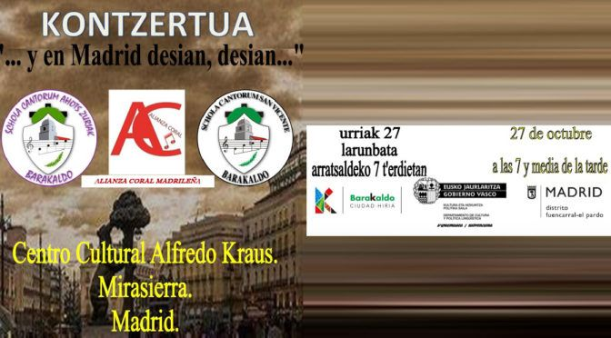 Concierto en Madrid