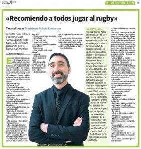 Entrevista El Correo