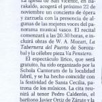 Santa Cecilia 1994