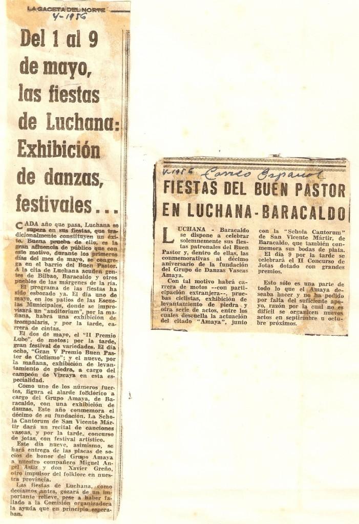 Gaceta del Norte - Correo  - 04-1956