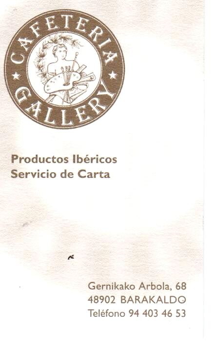 Cafetería GALLERY