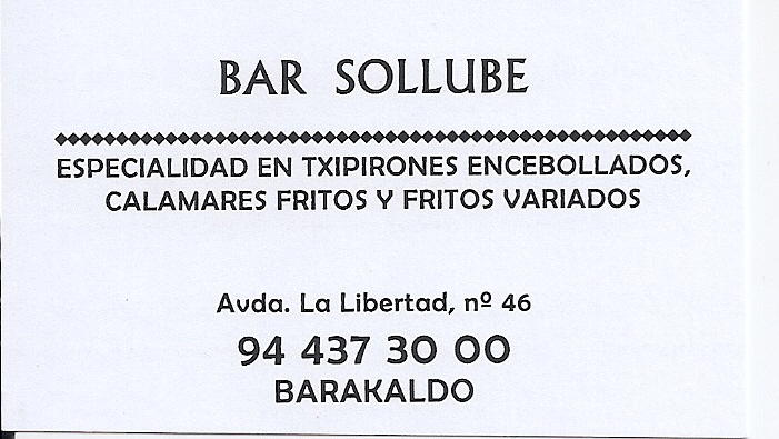 Bar Sollube