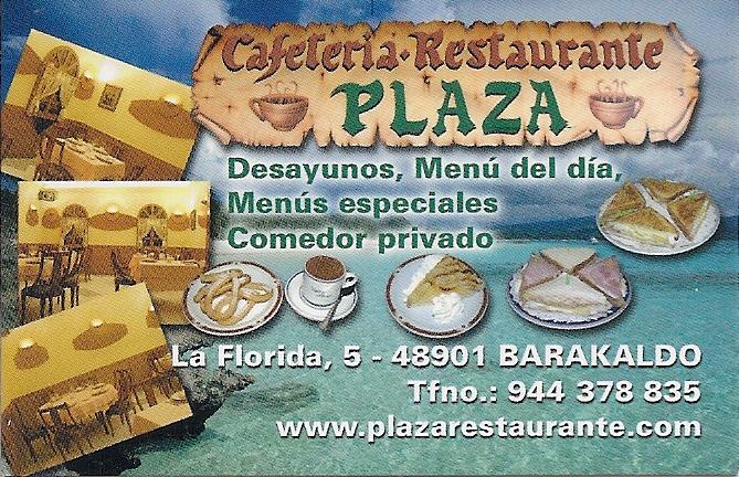 Cafetería Restaurante Plaza