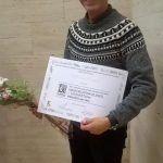 Txema Cuevas, finalista