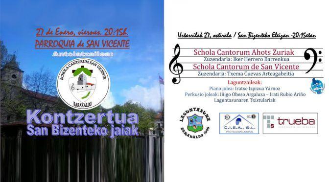 Concierto San Bizente Jaiak 2017