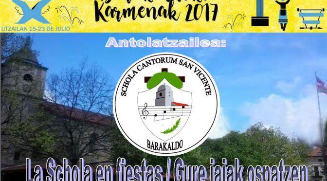 Presentaciones Concierto Karmenak 2017