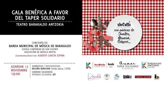 Concierto benéfico a favor del Taper Solidario