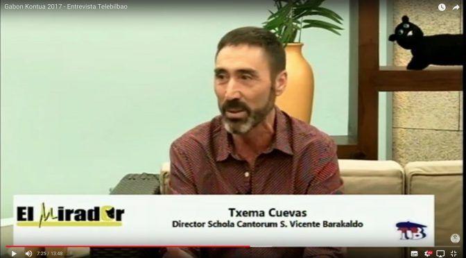 Gabon Kontua 2017 – Entrevista Telebilbao