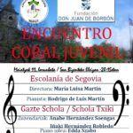 Cartel Escolanía de Segovia