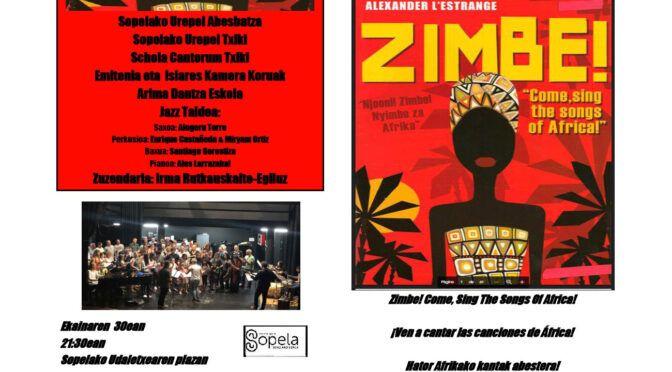 Concierto Zimbe! – Schola Txiki