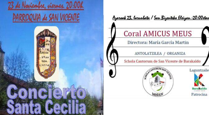 Concierto Coral Amicus Meus