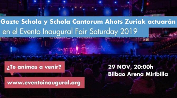 Evento Inaugural Fair Saturday 2019
