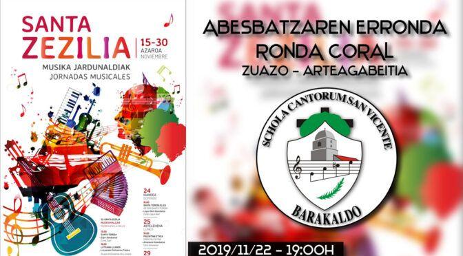 Ronda Coral Santa Cecilia 2019
