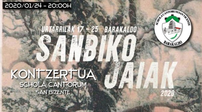 Concierto SanBiko Jaiak 2020